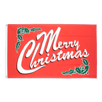 Merry Christmas - Flagge 90 x 150 cm