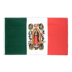 Mexiko Lady of Guadalupe - Flagge 90 x 150 cm