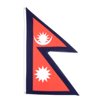Nepal - Flagge 90 x 150 cm
