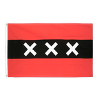 Amsterdam - Flagge 90 x 150 cm
