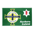 Drapeau Irlande du Nord Association de football vert - 90 x 150 cm