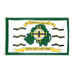 Northern Ireland Football white - 3x5 ft Flag