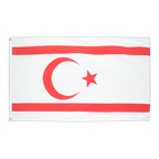 North Cyprus - 3x5 ft Flag