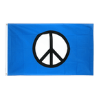 Peace CND - Flagge 90 x 150 cm