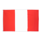 Peru without crest - 3x5 ft Flag