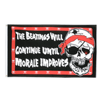 Pirate Beatings will continue - 3x5 ft Flag