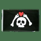 Pirat Micropose - Flagge 90 x 150 cm