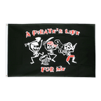 Pirate Pirates Life - 3x5 ft Flag