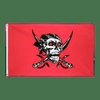 Pirat Rotes Tuch - Flagge 90 x 150 cm