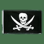 Drapeau Pirate avec deux épées - 90 x 150 cm