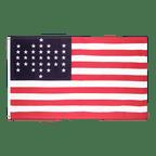 33 Sterne Fort Sumter Union Civil War 1861 - Flagge 90 x 150 cm
