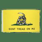 Gadsden Don't tread on me - Flagge 90 x 150 cm