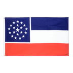 Mississippi unofficial - 3x5 ft Flag