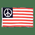 Drapeau USA Peace - 90 x 150 cm