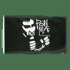 Drapeau Pow Mia Not Forgotten - 90 x 150 cm