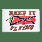 Drapeau confédéré USA Sudiste Keep it Flying - 90 x 150 cm