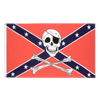 USA Southern United States pirate - 3x5 ft Flag