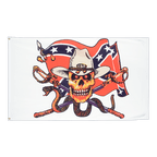 USA Southern United States with snake - 3x5 ft Flag