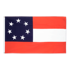 USA Südstaaten Stars and Bars 1861 - Flagge 90 x 150 cm