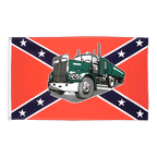 USA Southern United States with truck - 3x5 ft Flag