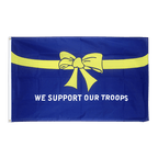 USA We support our troops - Flagge 90 x 150 cm