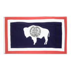 Wyoming - Flagge 90 x 150 cm