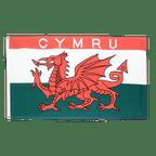 Wales CYMRU - Flagge 90 x 150 cm