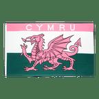Wales CYMRU Pink - Flagge 90 x 150 cm