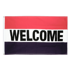 Welcome - 3x5 ft Flag