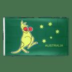 Känguru - Flagge 60 x 90 cm