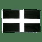 Drapeau pas cher Saint Piran (St. Piran Cornwall) - 60 x 90 cm