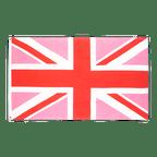 Union Jack Pink - Flagge 60 x 90 cm