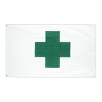 Green Cross - 2x3 ft Flag