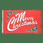 Merry Christmas - Flagge 60 x 90 cm