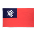 Myanmar 1974-2010 - 2x3 ft Flag