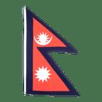 Nepal - Flagge 60 x 90 cm