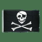 Pirate Skull and Bones - 2x3 ft Flag