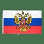 Drapeau pas cher Russie avec blason - 60 x 90 cm
