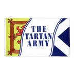 Schottland Tartan Army - Flagge 60 x 90 cm