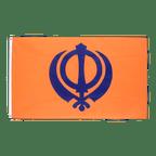 Sikhismus - Flagge 60 x 90 cm