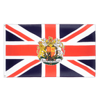 Great Britain with crest - 2x3 ft Flag