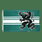 Ostflandern - Flagge 90 x 150 cm