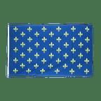 Fleur-de-lis, blue - 3x5 ft Flag