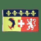 Rhône Alpes - Flagge 90 x 150 cm