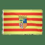 Aragonien - Flagge 90 x 150 cm