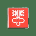 Nidwalden - Günstige Flagge 90 x 90 cm