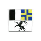 Graubünden - Flagge 120 x 120 cm