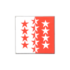 Wallis - Flagge 120 x 120 cm