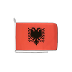 "Albania - Boat Flag 12x16"""