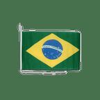 """Brazil - Boat Flag 12x16"""""""